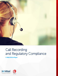 Call Recording and Regulatory Compliance
